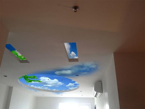 Vẽ giả mây sáng tạo