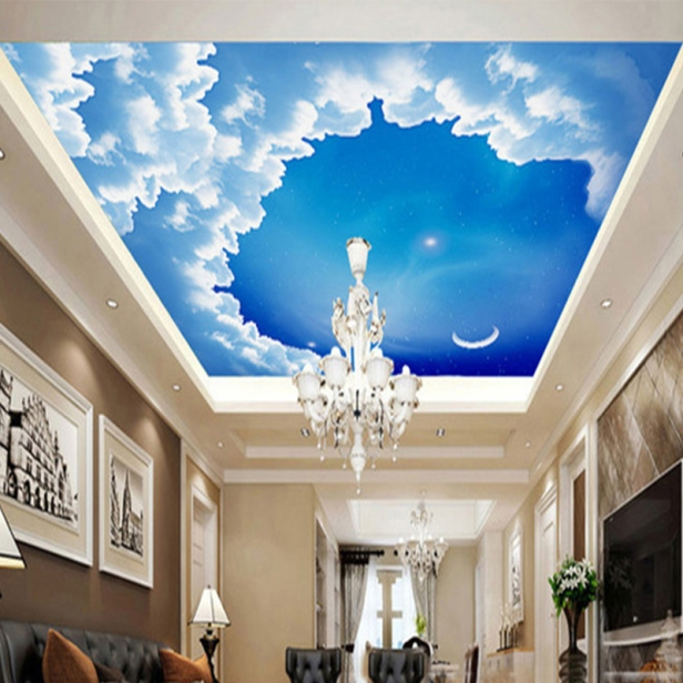 Mẫu vẽ trần mây đẹp nhất